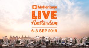 MyHeritage LIVE @ Amsterdam, 1077 Bg, Netherlands