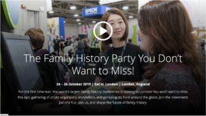 RootsTech London @ ExCeL London